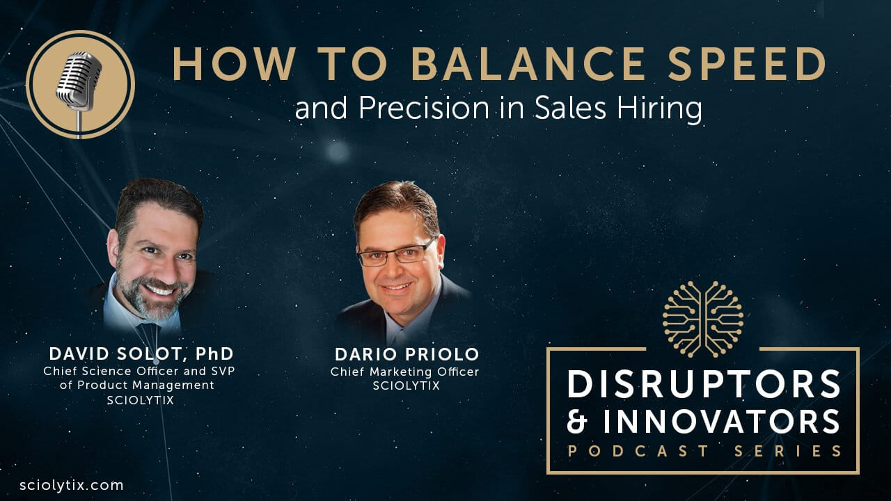 How to Balance Speed and Precision in Sales Hiring
